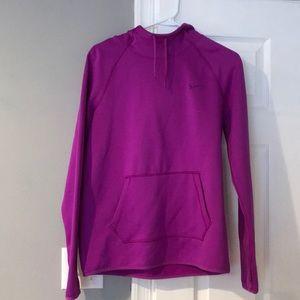 Purple Nike Therma-Fit hoodie